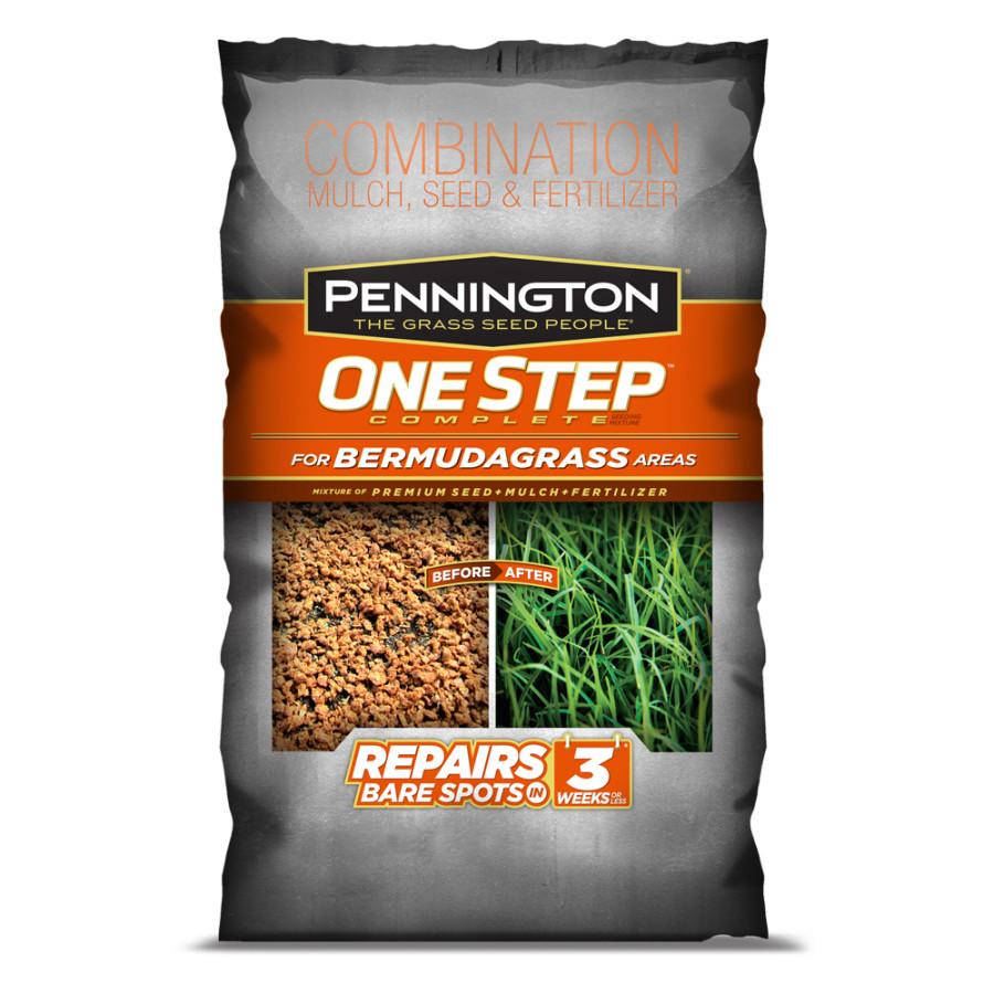 Pennington One Step Complete Bermudagrass Seed, Mulch, Fertilizer 1ea/35 lb
