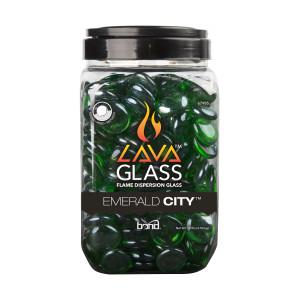 Bond Lavaglass Round Emerald City 4ea/10 lb