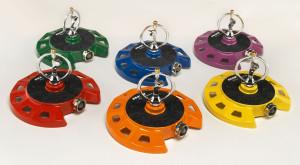 Dramm ColorStorm Spinning Sprinkler Assorted Colors 6ea