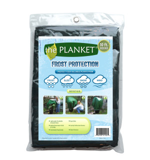 Planket Frost Protection Plant Cover Round Green 12ea/10Ftx20 ft