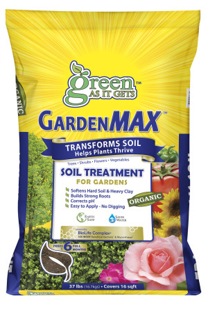 Green As It Gets GardenMAX Soil Treatment for Gardens 1ea/37 lb