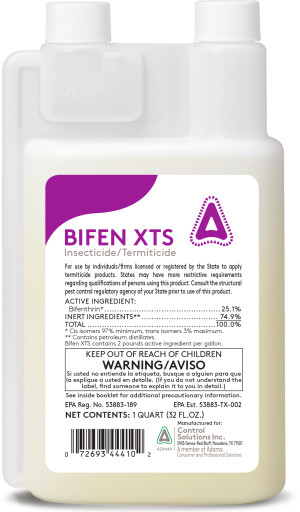 Control Solutions Bifen XTS Insecticide/Termiticide Concentrate 6ea/32 fl oz