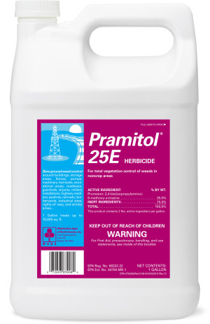 Control Solutions Pramitol 25E Herbicide Concentrate 4ea/1 gal