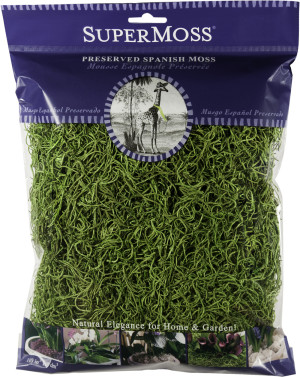 Supermoss Spanish Moss Preserved Grass 10ea/4 oz