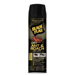 Black Flag Ant & Roach Killer Dry 12ea/9 fl oz