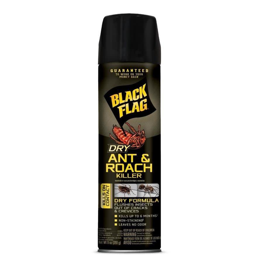 Black Flag Ant & Roach Killer Dry 12ea/9 fl oz