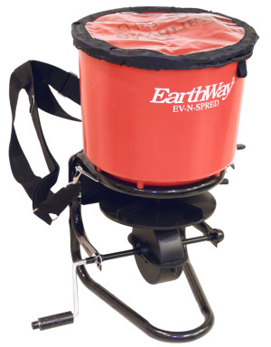 Earthway EV-N-SPRED Professional Hand Crank Broadcast Spreader Red 1ea/13.5 In X 21 In X 21.5 in
