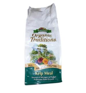 Espoma Organic Traditions Kelp Meal 1-0-2 Natural 12ea/4 lb