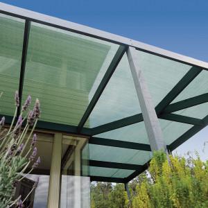 Coolaroo Medium Shade Fabric 70-80% Cover UV Block Forest Green 12ea/6 Ft X 15 ft