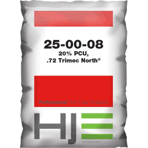 Howard Johnson 25-00-08 20% PCU, .72 Trimec North 40ea/50 lb