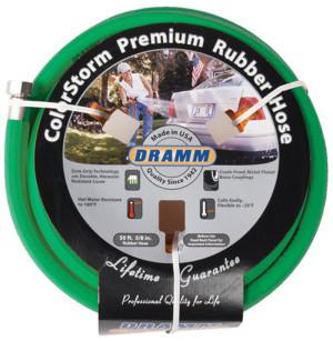 Dramm ColorStorm Premium Rubber Hose Green 6ea/5/8Inx50 ft