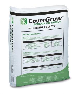 Profile CoverGrow Spread Or Spray Mulching Pellets 1ea/40 lb