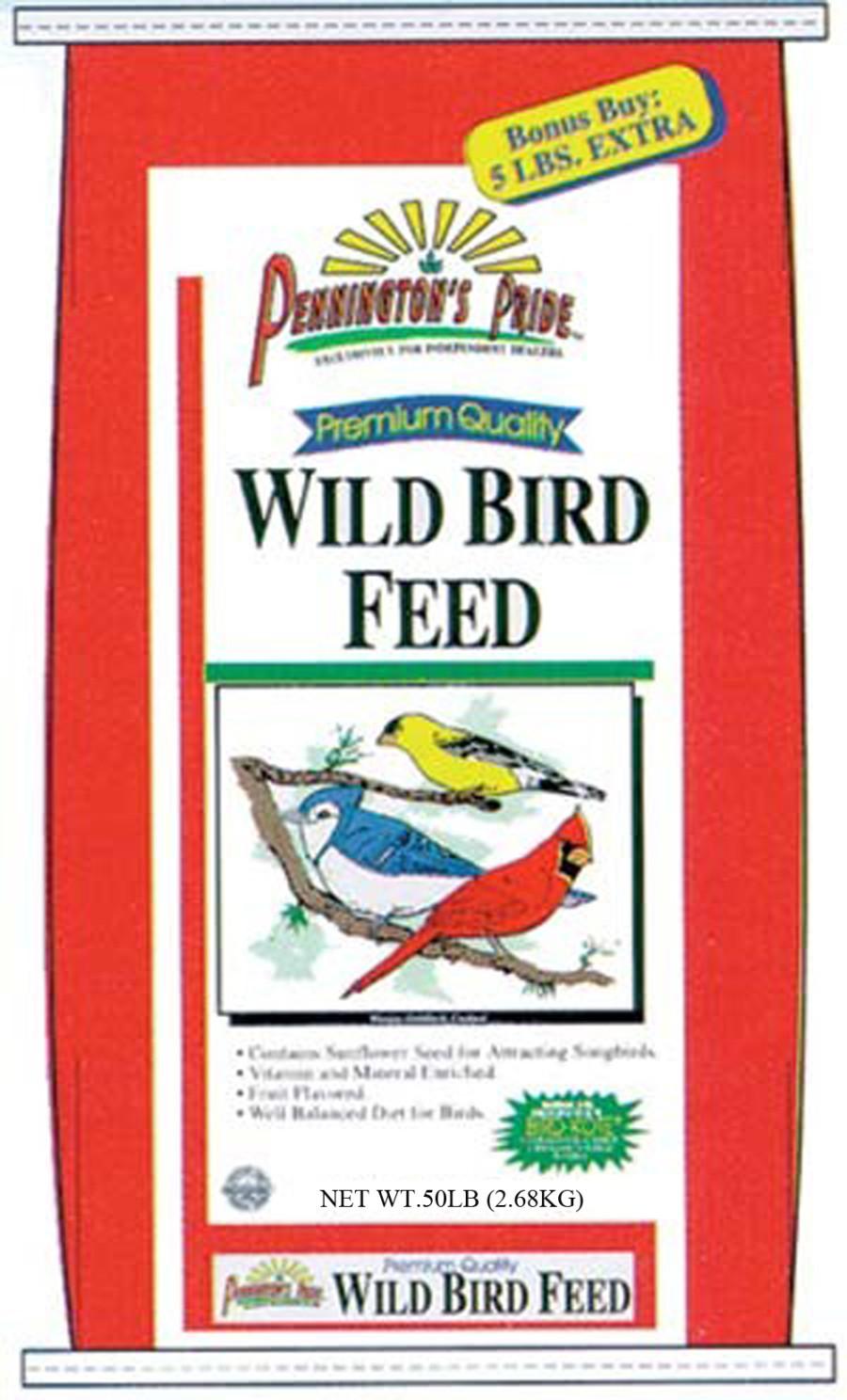 Pennington Pride Wild Bird Feed 1ea/50 lb