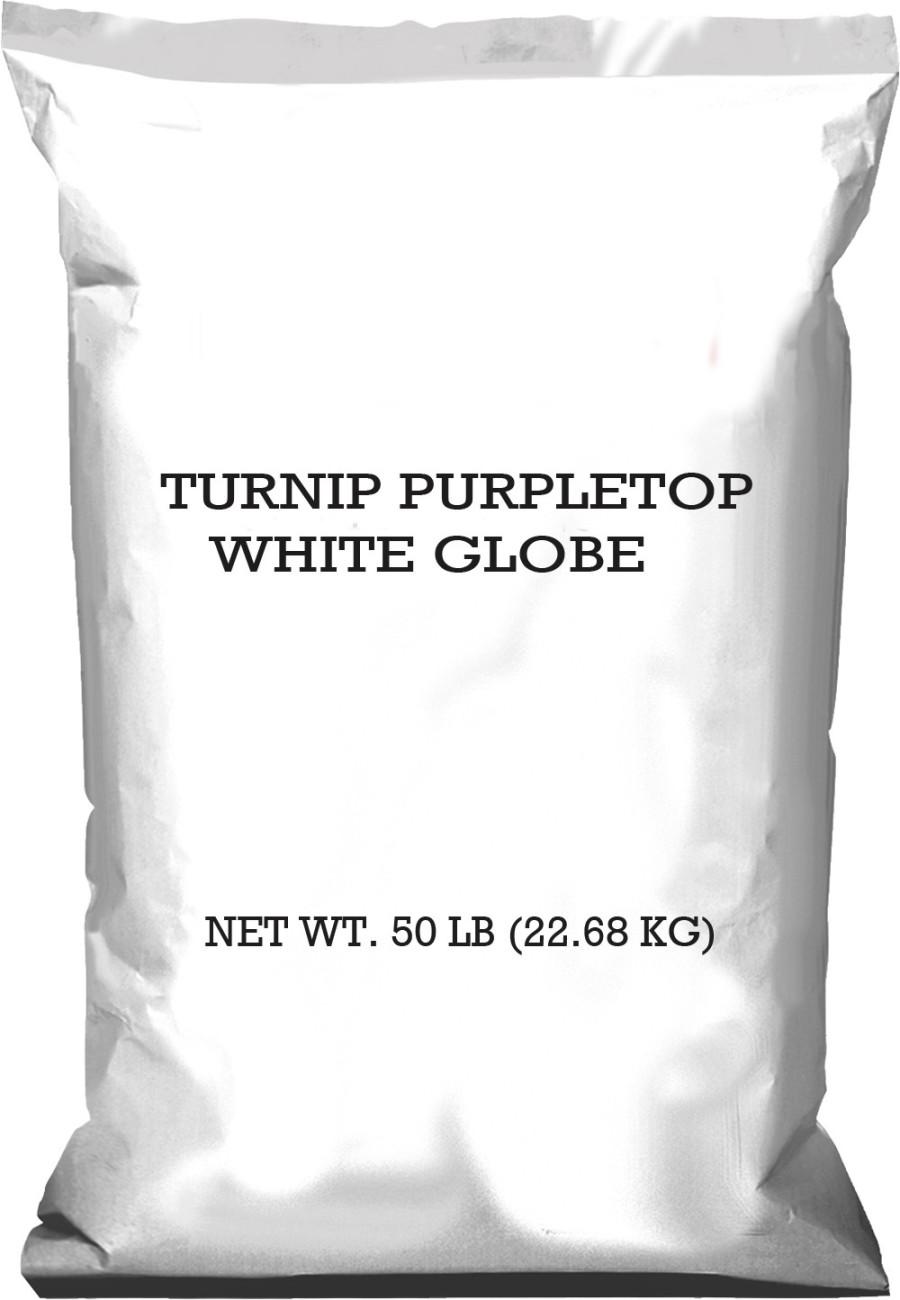 Pennington Turnip Purpletop Globe White 1ea/50 lb
