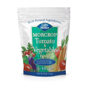 Lilly Miller Morcrop Tomato & Vegetable Food 5-10-10 12ea/4 lb