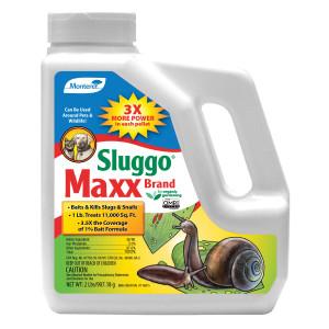 Monterey Sluggo Maxx Slug & Snail Killer Bait 6ea/2 lb