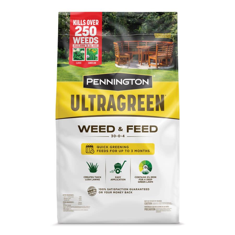 Pennington Ultragreen Weed & Feed 30-0-4 1ea/5M 12.5 lb