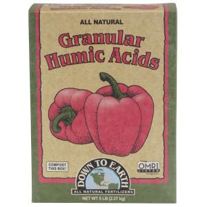 Down To Earth Granular Humic Acids All Natural OMRI 6ea/5 lb