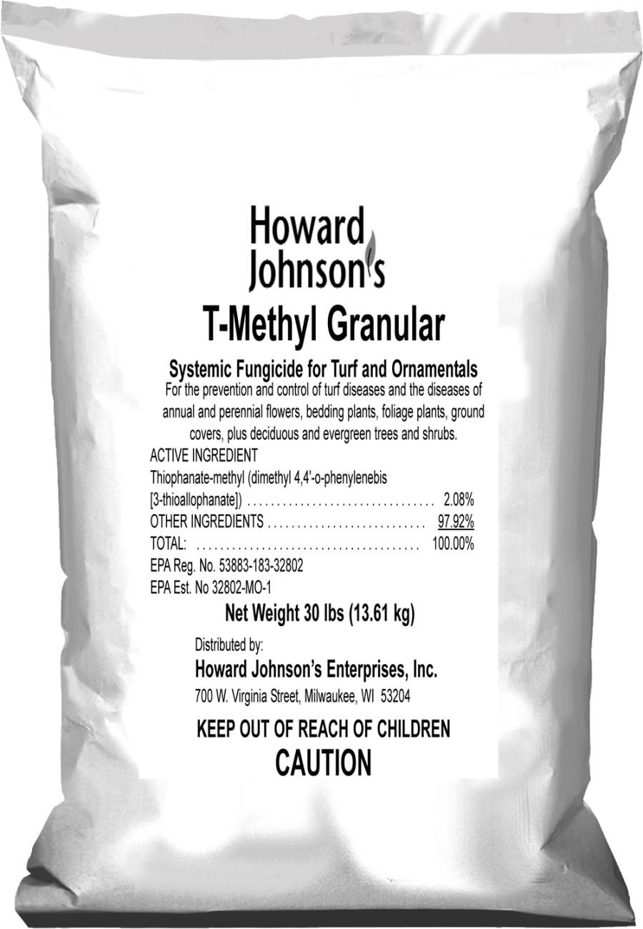 Howard Johnson T-Methyl Granular Fungicide 1ea/30 lb