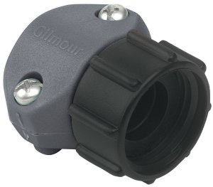 Gilmour Light Duty Clamp Repair Poly End Hose Coupling Female Grey 12ea/1/2 in