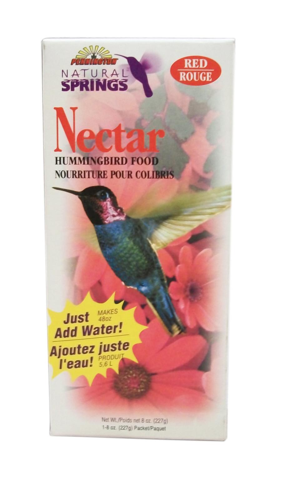 Pennington Natural Springs Nectar Hummingbird Food Powder Red 18ea/8 oz