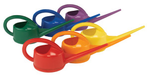 Dramm Watering Cans Assorted Colors 6ea/2Ltr