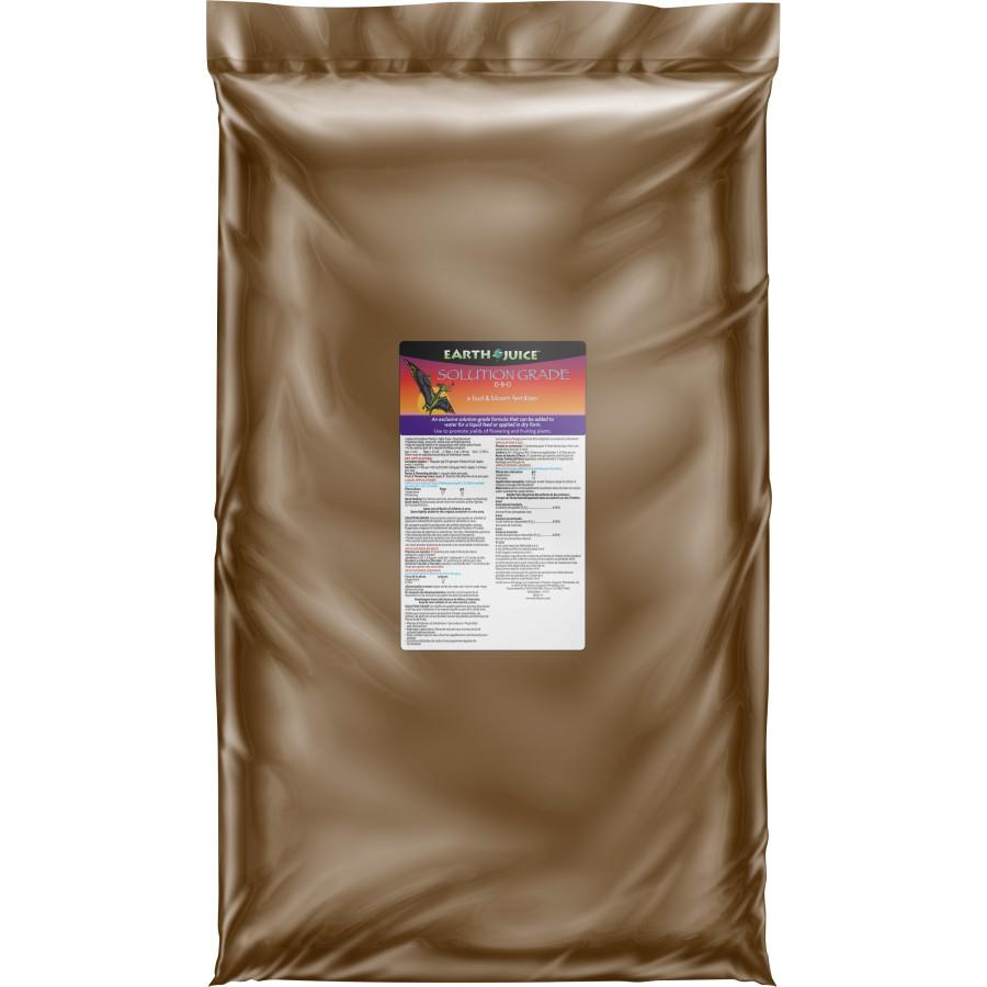 Earth Juice Solution Grade 0-8-0 Bud & Bloom Fertilizer 1ea/50 lb