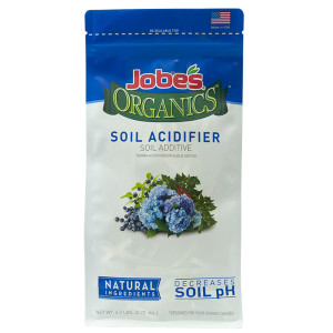 Jobe's Organics Soil Acidifier Additive Decreases pH 6ea/6 lb