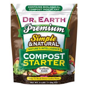 Dr. Earth Compost Starter Organic 12ea/3 lb