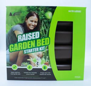 Master Mark Raised Garden Bed Starter Kit Brown 4ea