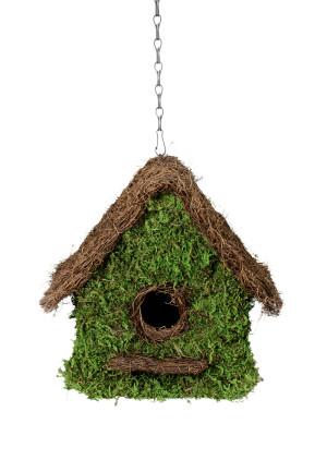 Supermoss Maison Woven Birdhouse Fresh Green 6ea/11Inx12 in