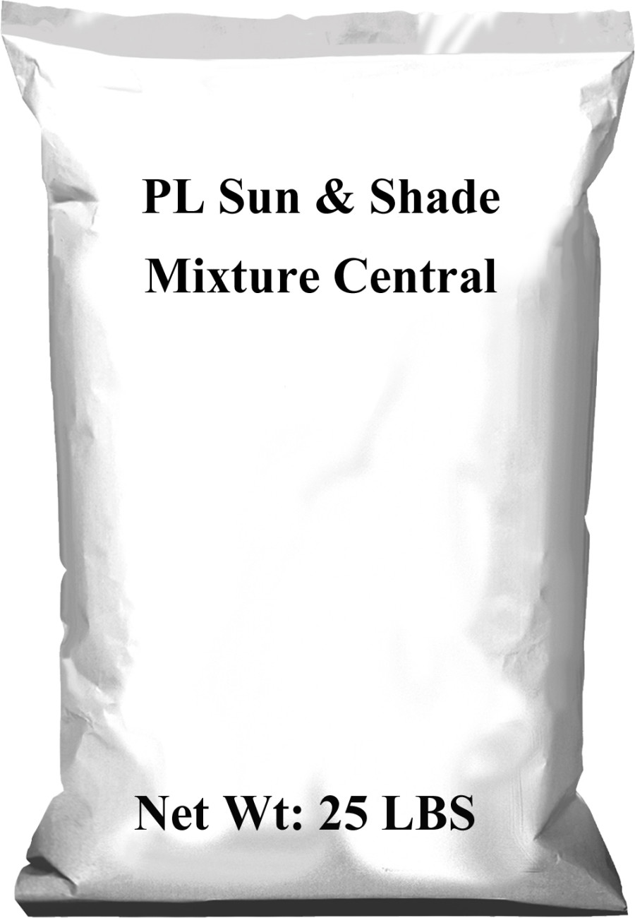 Pennington PL Sun & Shade Mixture Central 1ea/25 lb