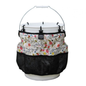 Womanswork Garden of Paradise Bucket Caddy Multi-Color 6ea/One Size