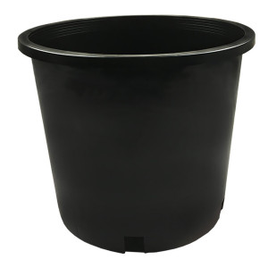 Calipot Grower Pot Black 1ea/5 gal
