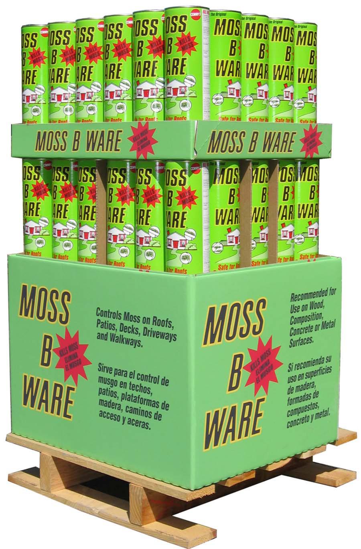 Corry's Moss B Ware Quarter Pallet 60ea/3 lb