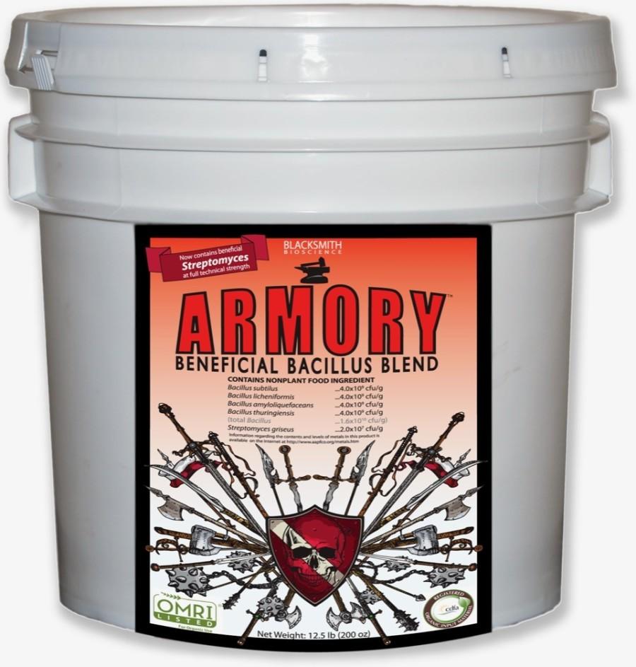 Blacksmith Bioscience Armory Beneficial Bacillus Blend 1ea/12.5 lb