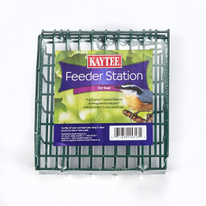 Kaytee Feeder Station for Wild Bird Mini Cakes and Suet 8ea/Holds Kaytee Mini Cakes And Suet