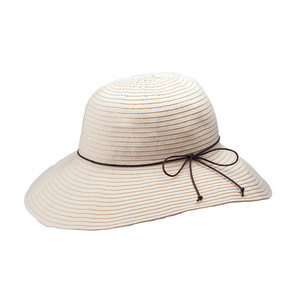 Goldcoast Sunwear Womens Hillary Hat Ivory 6ea/Adjustable