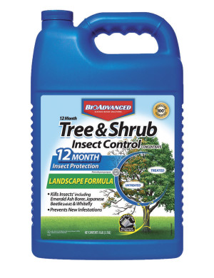 BioAdvanced 12 Month Tree & Shrub Insect Control Concentrate 4ea/128 fl oz