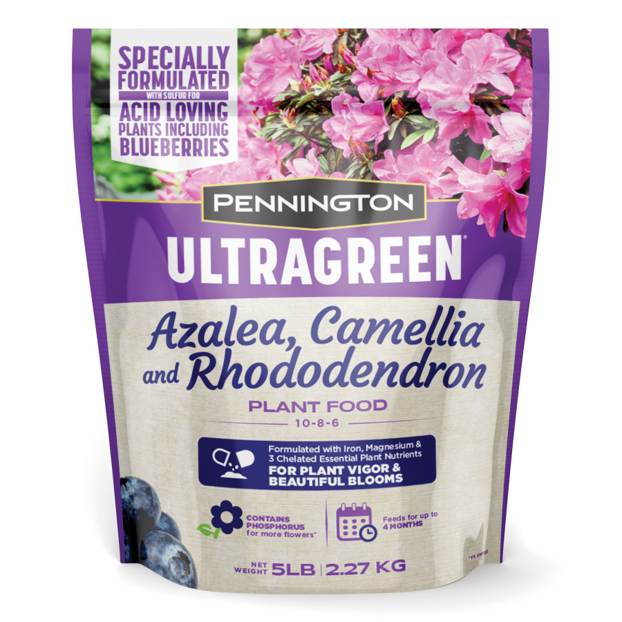 Pennington Ultragreen Azalea, Camellia & Rhododendron Fertilizer 9ea/5 lb
