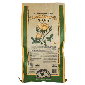Down To Earth Rose & Flower Mix All Natural Fertilizer 4-8-4 1ea/50 lb