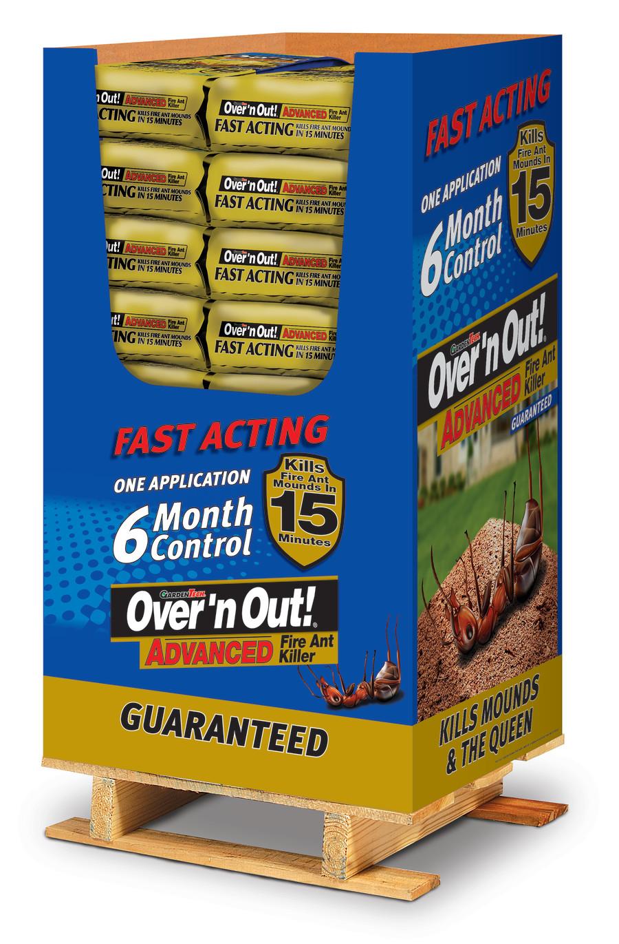 Over 'n Out Advanced Fire Ant Killer 36ea/11.5 lb