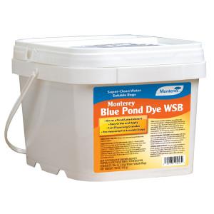 Monterey Pond Dye Tub Water Soluble Bags Lake & Pond Colorant Blue 4ea/10Pk 5 oz