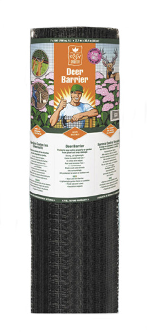 Easy Gardener Deer Barrier Black 1ea/7Ftx100 ft