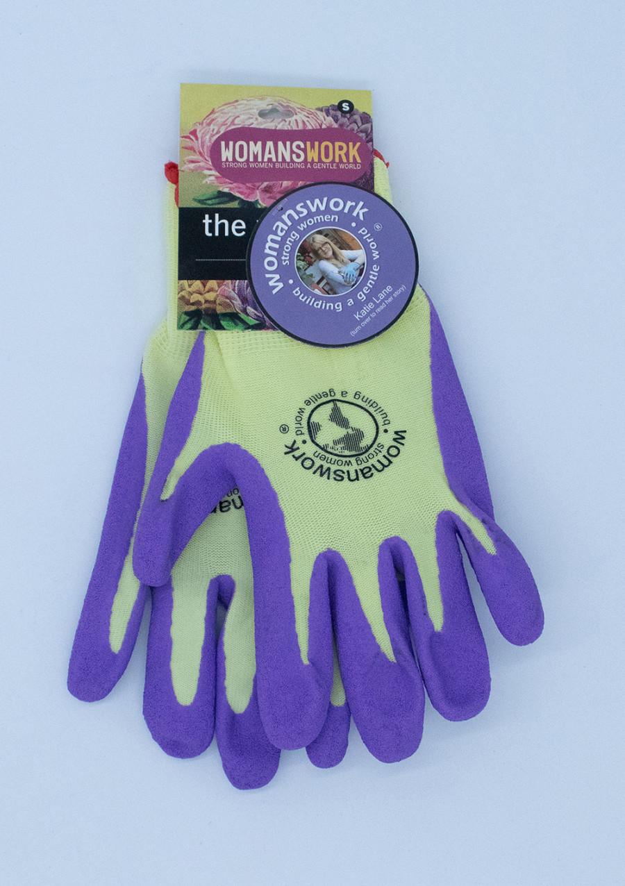 Womanswork Weeding Glove Purple 6ea/Small
