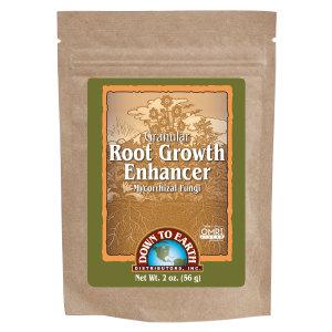Down To Earth Root Growth Enhancer Mycorrhizal Fungi Granules OMRI 24ea/2 oz