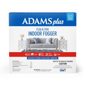 Adams Plus Flea & Tick Indoor Fogger 3 Pack 6ea/3 oz Cans