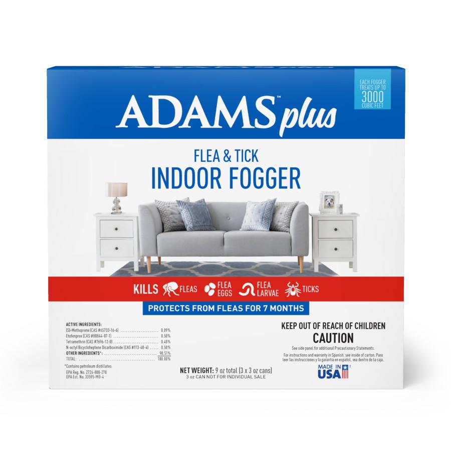 Adams Plus Flea & Tick Indoor Fogger 6ea/3 pk, 3 oz
