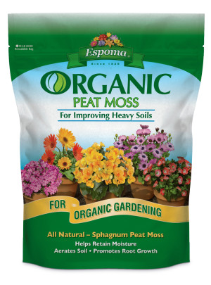 Espoma Organic Peat Moss Natural 6ea/2 gal