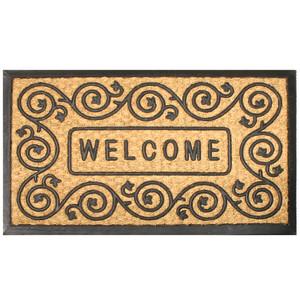 Robert Allen Promo Mat Welcome Scroll Large 5ea/18Inx30 in